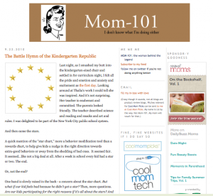 Old Mom-101 blog