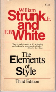strunk and white: the elements of style