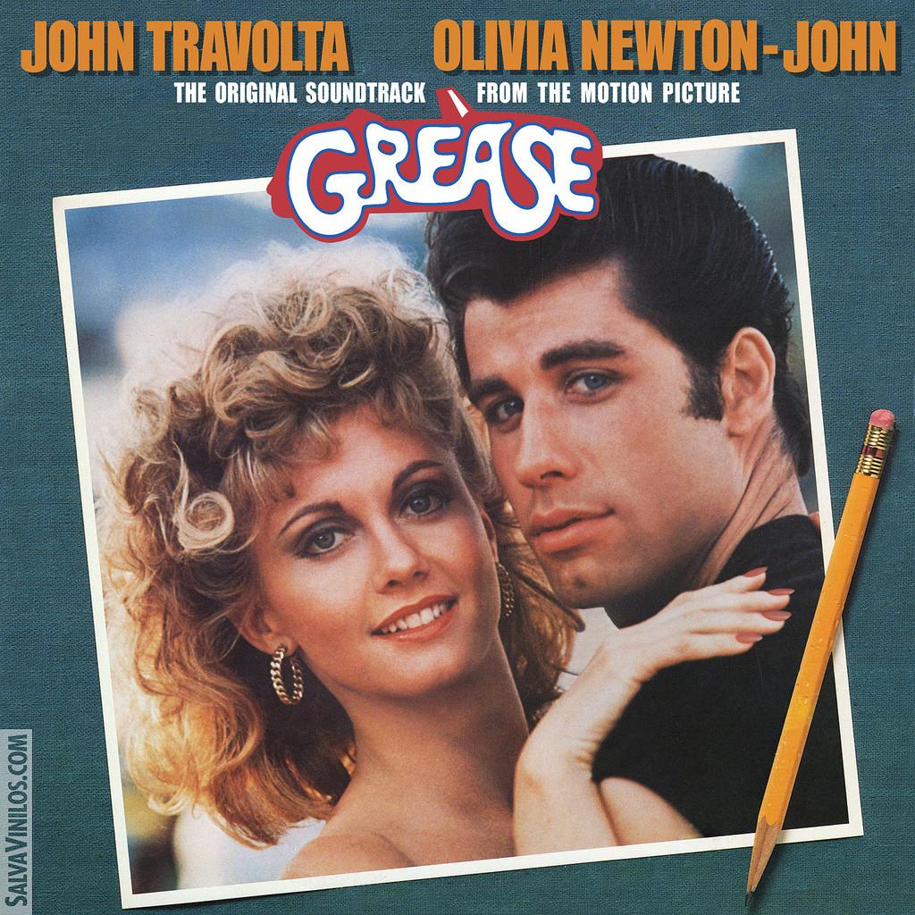 Grease album cover | Mom-101
