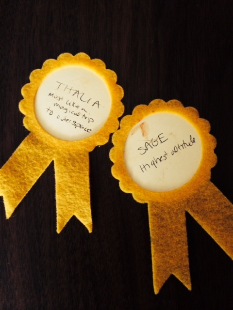 cookie contest ribbons