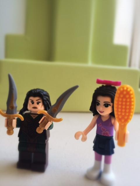 LEGO girl minifigs