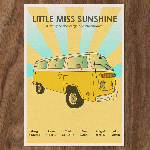 Little Miss Sunshine poster - Monster Gallery | Mom101