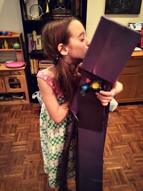 T and her enderman ©mom101