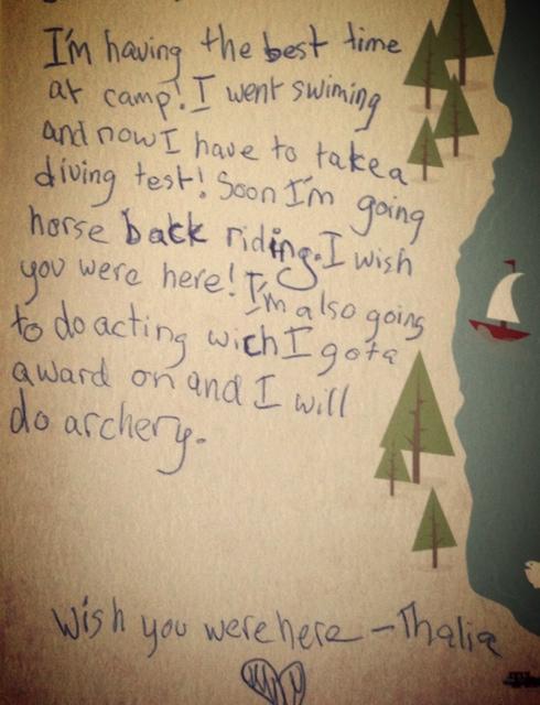 Letter home | mom-101.com