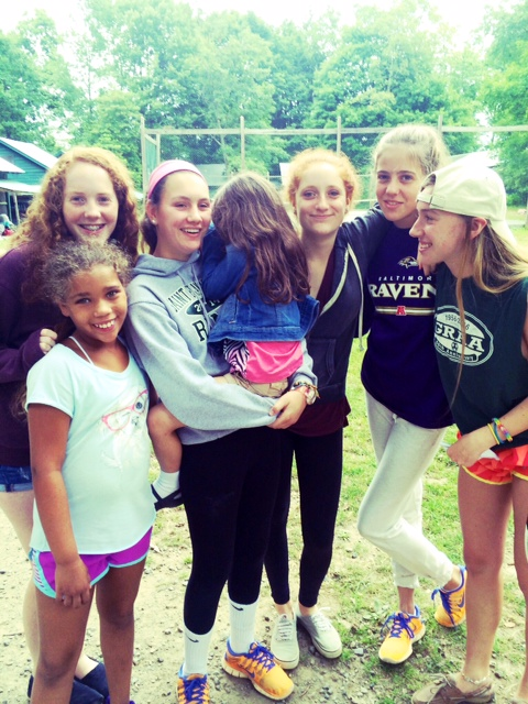 Saying goodbye at camp | mom-101.com