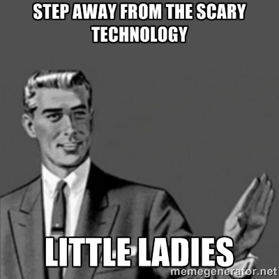 Step away from the technology, ladies | Mom101
