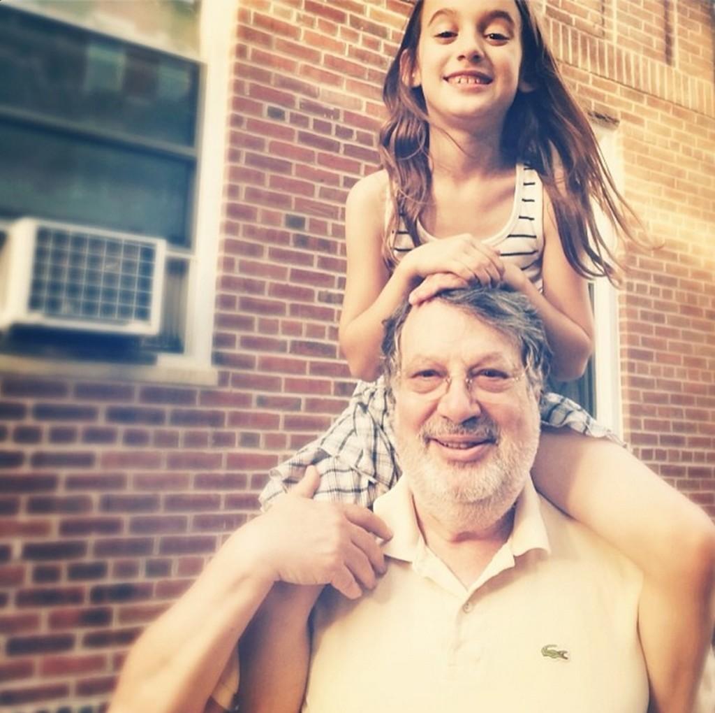 Thalia and Grandpa 2014 | Mom101
