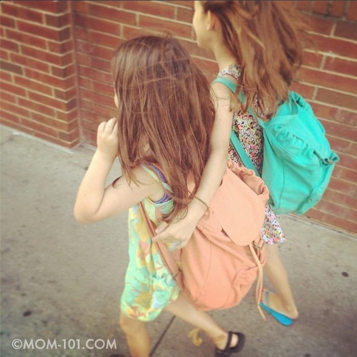 Walking together | ©Mom-101.com