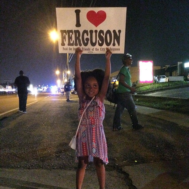 I love Ferguson by jasari_x on Instgram